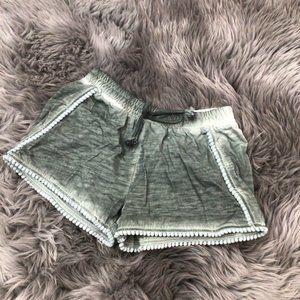 Manguun Girl's Shorts: Light Grey | Various Sizes